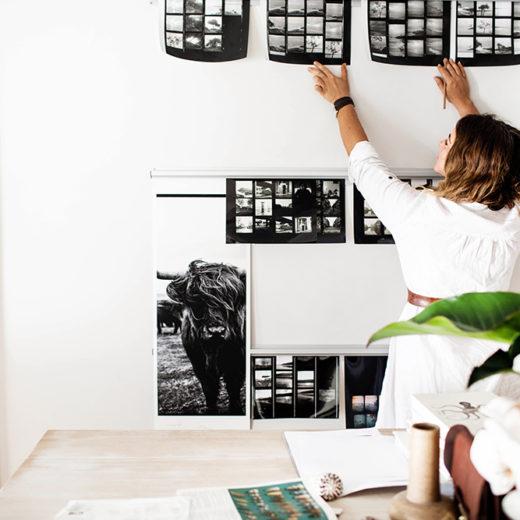 Home Tour: Das Studio Von Kara Rosenlund